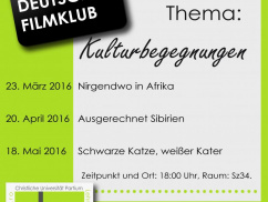 German Film Club 2015/2016/II.